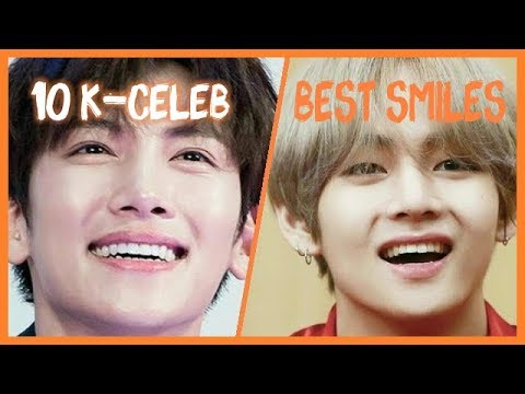 K-CELEBRITIES WITH THE MOST BEAUTIFUL SMILES