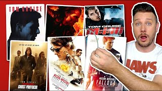 All Six Mission: Impossible Movies Ranked
