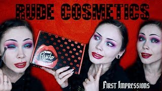 Rude Cosmetics FIRST IMPRESSIONS || The Good, The Bad and...