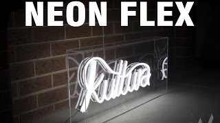Handmade LED Neon Sign - Neon Flex
