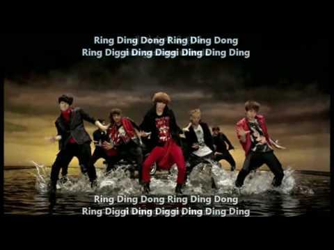 SHINee - Ring Ding Dong MV + [Eng Sub, Romanization, Hangul]