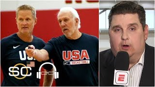 Gregg Popovich is teaching a system, not building around a star on Team USA | SC with SVP