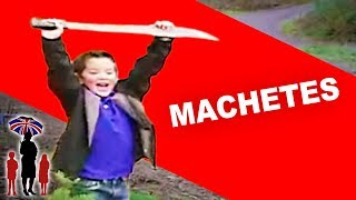 Young Brothers Obsessed with Machetes | Supernanny
