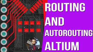 Routing and Auto Routing in Altium [ Arduino PCB Design Course ]