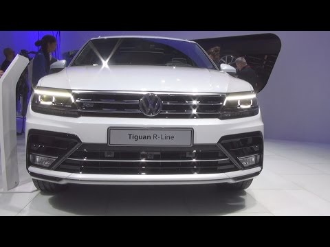 Volkswagen Tiguan R-Line 4MOTION 2.0 TDI SCR 240 hp (2016) Exterior and Interior in 3D