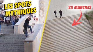 Enquête : les spots mythiques de skate en France !