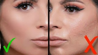 HOW TO AVOID CAKEY MAKEUP & STOP THE CREASING!