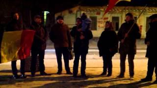 Protest contra modificării Codului Penal al României