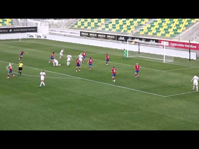 Ženy A | Sestřih gólů Česko - Finsko 1:1