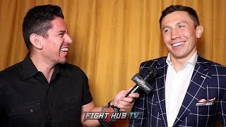 """GENNADY GOLOVKIN ON CANELO SAYING HE NEEDS A BELT FOR 3RD FIGHT """"THIS IS NOT CORRECT!"""""""