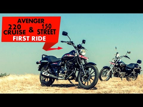 Bajaj Avenger 220 Cruise & 150 Street | First Ride | PowerDrift