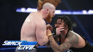 The Usos vs. The Bar: SmackDown LIVE, Jan. 8, 2019