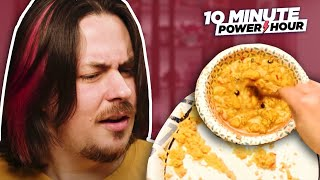 THE WORST INSTANT EGGS... MRE Taste Test - 10 Minute Power Hour
