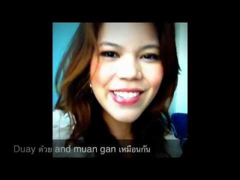 Thai Lesson : also same mee too