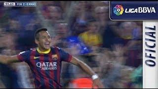 Golazo de Alexis (2-0) en el FC Barcelona - Real Madrid