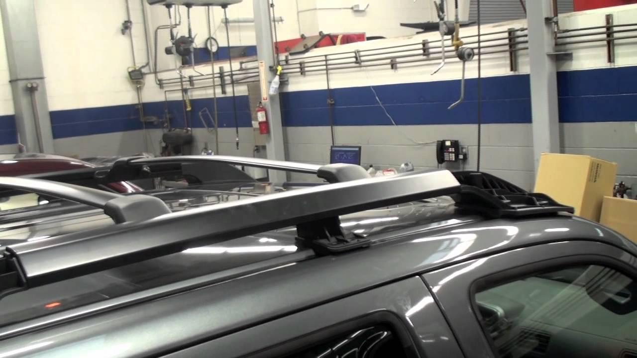 Ridgeline Roof Rack Installation Honda Answers 71 Youtube