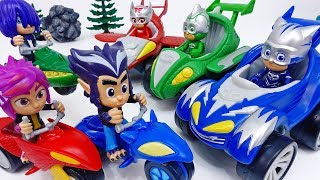 The Wolfy Kids Are Real Prankster~! Go PJ Masks Power Racers #ToyMartTV