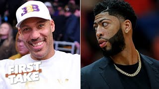 LaVar Ball is hurting the Lakers' chances of landing Anthony Davis – Max Kellerman   First Take