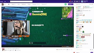 A Twitch streamer ACCUSED me of HACKS in Fortnite LIVE