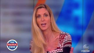 Ann Coulter On UC Berkeley Speech, Border Wall & More | The View