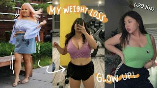 How I lost 20lbs and transformed my bOdy 🔥 (then rona hit lmfao)