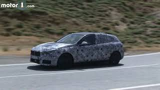 2018 BMW 1 Series spy video