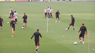 Juventus Train Without Absent Ronaldo Ahead Of UCL Opener Away To Dynamo Kyiv