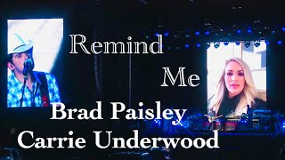 Brad Paisley, Carrie Underwood - Remind Me (Live From The Drive In at Nissan Stadium July 11)