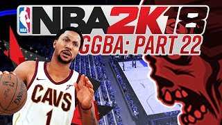 NBA 2K18 'GGBA' Fantasy League - WHAT IS GOING ON? - Part 22 (CUSTOM myLEAGUE)