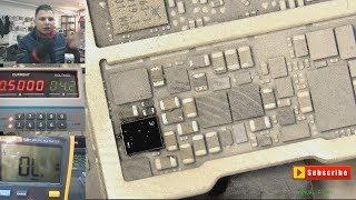 iPhone 7 PLUS No Power Repair تتبع العطل الجزء الثانى في ...