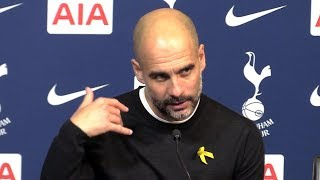 Tottenham 1-3 Manchester City - Pep Guardiola Full Post Match Press Conference - Premier League