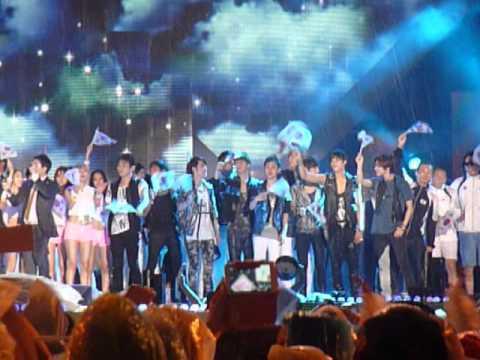 120814 - Ending @ Olympic Athletes Return Kookmin Festival
