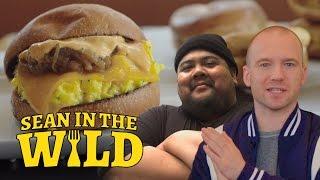 Breakfast Sandwich Taste-Test with Eggslut's Alvin Cailan   Sean in the Wild