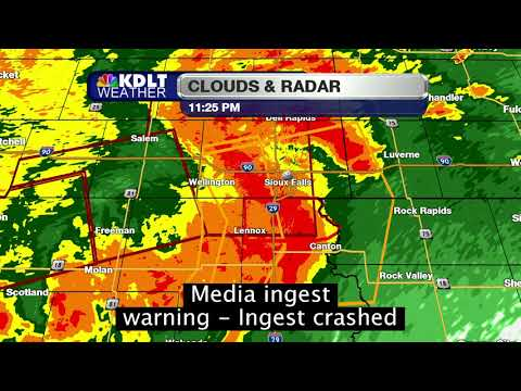 KDLT (NBC) Sioux Falls tornado coverage
