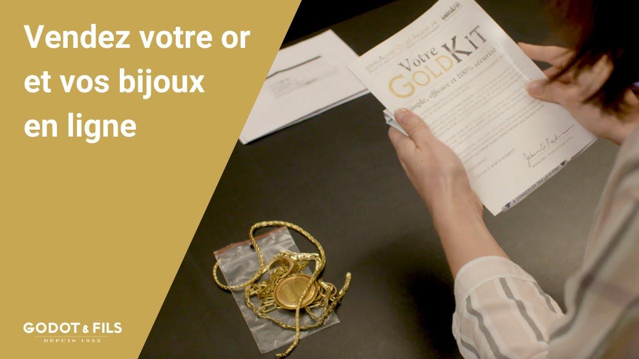 Vendez votre or et bijoux en ligne