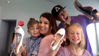 Shoe Get to know YOU game| FAMILY VLOG