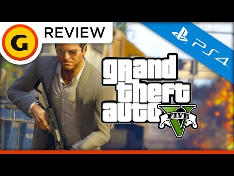 Grand Theft Auto V (PS4) - Review