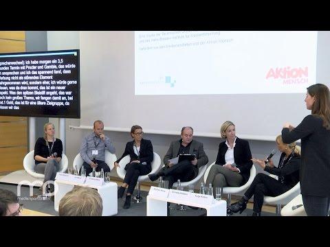 Diskussion: Wie Menschen mit Behinderungen Medien nutzen