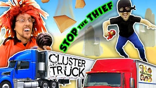 /try 2 stop me high speed truck jumping parkour chase fgteev cluster truck funny gameplay skit