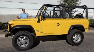 Here's Why the Land Rover Defender Costs So Much in the USA