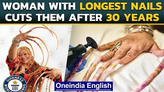Texas woman with Guinness World Record for world's longest fingernails did this| Oneindia News