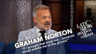 Graham Norton Compares His Show With Stephen's