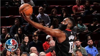 James Harden drops 43-point triple-double as Rockets crush Cavs | NBA Highlights