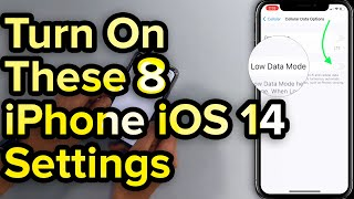 8 iOS 14 Settings To Turn On Now