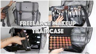 MY FREELANCE MAKEUP KIT | Train Case Essentials & Tips!