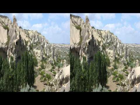 Türkei Kappadokien in 3D - im Land der Feenkamine...