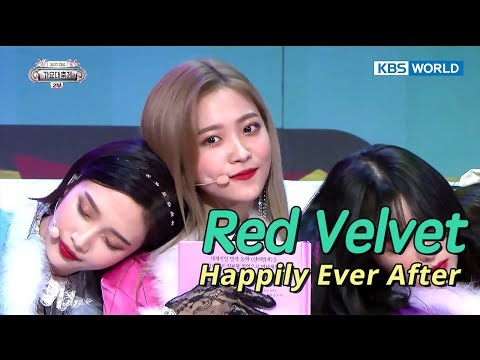 Red Velvet (레드벨벳) - Happily Ever After [SUB: ENG/CHN/2017 KBS Song Festival(가요대축제)]