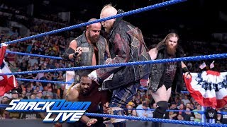 SAnitY wreck New Day's 1st Annual Third of July Pancake Eating Contest: SmackDown LIVE, July 3, 2018