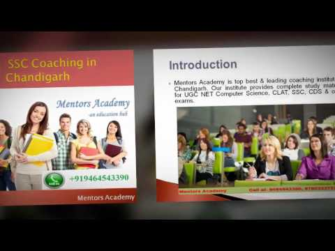 Best SSC Coaching in Chandigarh - Mentors Academy