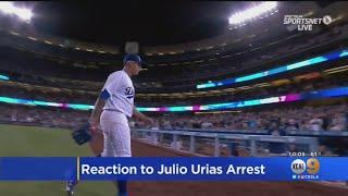 Dodgers Pitcher Julio Urias Arrested For Domestic Violence